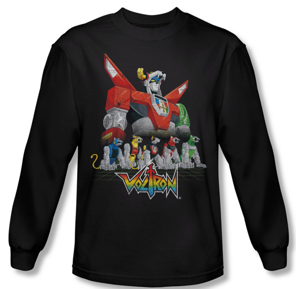 Voltron shirt lions long sleeve black tee t shirt for Bc lions t shirts