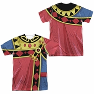 Voltron Zarkon Costume Sublimation Shirt Front/Back Print