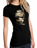 War of the Worlds Shirt - Juniors Fitted Girly Black Tee