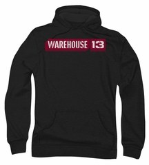 Warehouse 13 Hoodie Sweatshirt Logo Black Adult Hoody