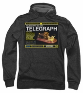 Warehouse 13 Hoodie Sweatshirt Telegraph Island Charcoal Adult Hoody