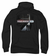 Warehouse 13 Hoodie Sweatshirt The Unknown Black Adult Hoody