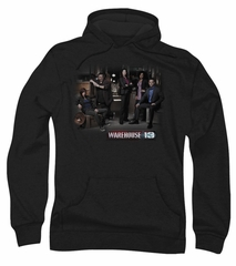 Warehouse 13 Hoodie Sweatshirt Warehouse Cast Black Adult Hoody