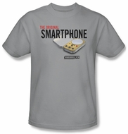 Warehouse 13 Shirt Original Smartphone Adult Silver Tee T-Shirt