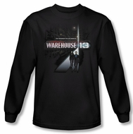 Warehouse 13 Shirt The Unknown Long Sleeve Black Tee T-Shirt