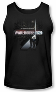 Warehouse 13 Tank Top The Unknown Black Tanktop
