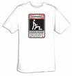 Warning - Choking Hazard Funny T-shirt Tee Shirt