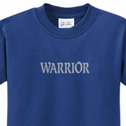 Warrior Text Kids Yoga Shirts