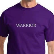 Warrior Text Mens Yoga Shirts