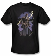 Watchmen Kids T-shirt Superhero Rorschach Night Youth Black Shirt