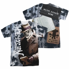 Watchmen Shirt Journal Sublimation Shirt Front/Back Print