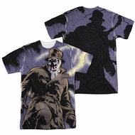 Watchmen Shirt Stormy Night Sublimation Shirt Front/Back Print