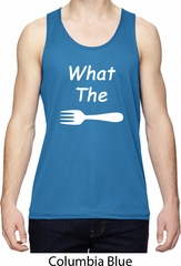 What the Fork WTF Mens Moisture Wicking Tanktop