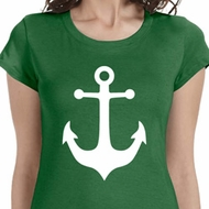 White Anchor Ladies Sailing Shirts