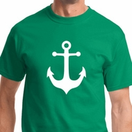 White Anchor Mens Sailing Shirts