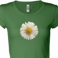 White Daisy Ladies Shirts