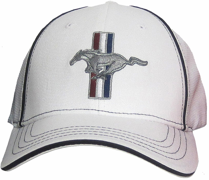 Ford Mustang Gt Hat Fitted Flexfit Fine Embroidered Cap