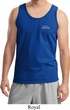 White Ford Pocket Print Mens Tank Top