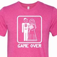 White Game Over Mens Shirts