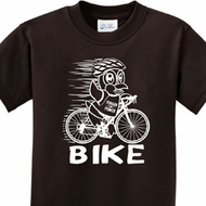 White Penguin Power Bike Kids Shirts