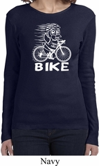 White Penguin Power Bike Ladies Long Sleeve Shirt