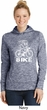White Penguin Power Bike Ladies Moisture Wicking Hoodie