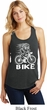 White Penguin Power Bike Ladies Racerback Tank Top