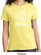 White Penguin Power Run Ladies Shirt