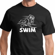 White Penguin Power Swim Shirts