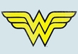 Wonder Woman Juniors T-shirt - WW Logo Distressed Tee