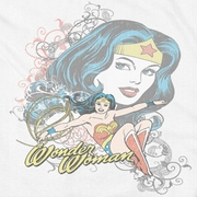 Wonder Woman Scroll Shirts