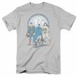 Wonder Woman T-shirt - DC Comics Trinity Adult Silver Tee
