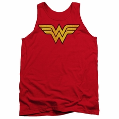 Wonder Woman Tank Top Logo Red Tanktop