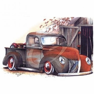 Woodie Truck T-Shirts - '39 Prime Classic Vintage Retro Tee Shirts