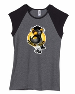 Workout Clothing - Penguin Power Ladies Juniors Size T-shirt