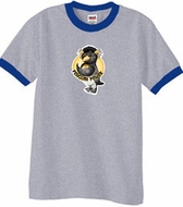 Workout Clothing - Penguin Power Ringer T-shirts