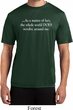 World Revolves Around Me Mens Moisture Wicking Shirt