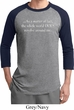 World Revolves Around Me Mens Raglan Shirt