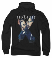 X-Files Hoodie Sweatshirt X Agents Black Adult Hoody Sweat Shirt