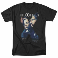 X-Files Shirt X Agents Adult Black Tee T-Shirt