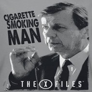 X-Files Smoking Man Shirts