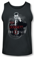 X-Files Tank Top Doggett Charcoal Tanktop