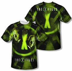 X-Files Trust No One Sublimation Kids Shirt Front/Back Print