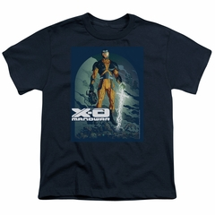 X-O Manowar Kids Shirt Decapitated Navy T-Shirt