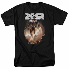X-O Manowar Shirt Lightning Sword Black T-Shirt
