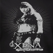 Xena: Warrior Princess Shirt Don't Mess With Me Adult Black T-Shirt