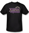 Xena: Warrior Princess Shirt Logo Adult Black Tee T-Shirt
