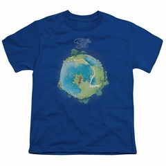Yes Shirt Kids Fragile Cover Royal T-Shirt