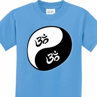Yin Yang AUM Kids Yoga Shirts