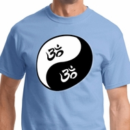 Yin Yang AUM Mens Yoga Shirts
